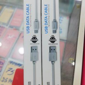 کابل شارژر میکرو پک دار مدل verity cb3124